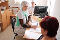 Краевые онкологи обследовали жителей Апшеронского района