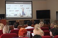 Краевые онкологи  в ходе телесеминара обсудили с московскими коллегами вопросы ранней диагностики и лечения рака молочной железы