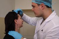 Краевые онкологи обследовали жителей Северского района