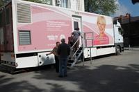 Онкологи провели выездную акцию в Выселковском районе
